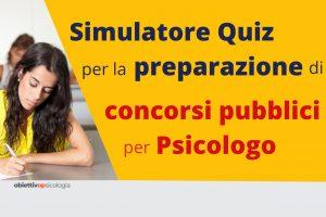 simulatore quiz concorso psicologo
